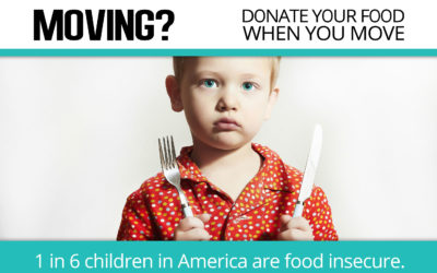 Moving? Donate Your Food!