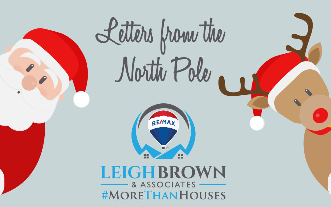 Santa Letters Postmarked from the North Pole 2019