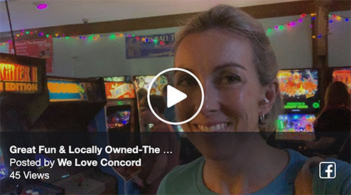 Great Fun & Locally Owned-The Basement Arcade Bar in Concord!