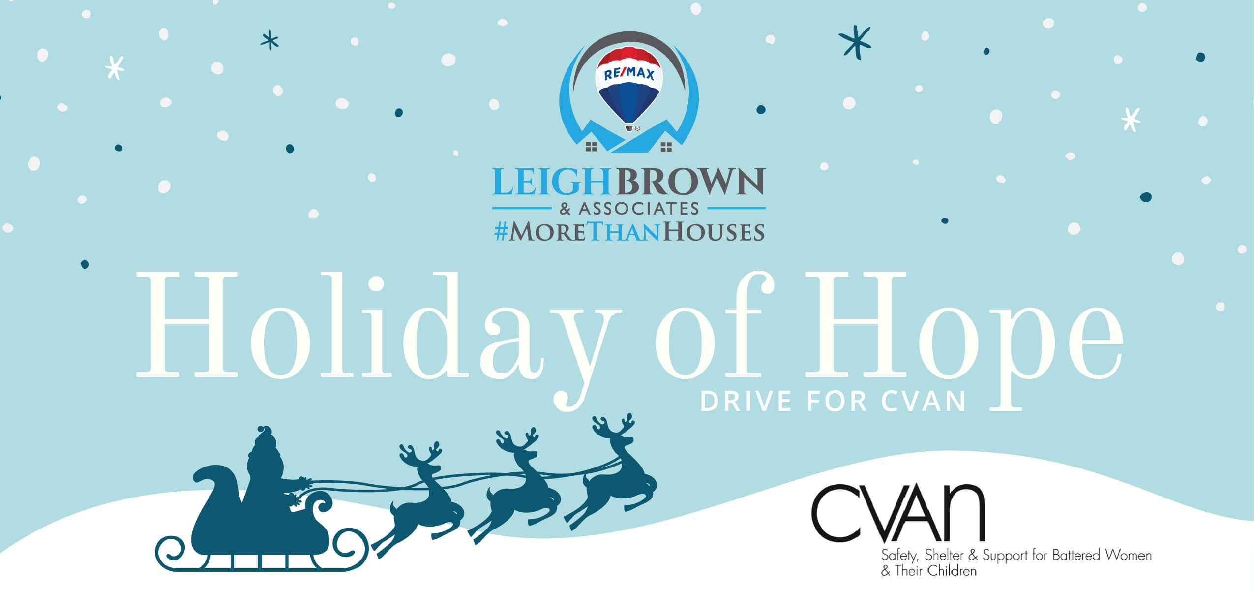 Holiday of Hope Drive for CVAN