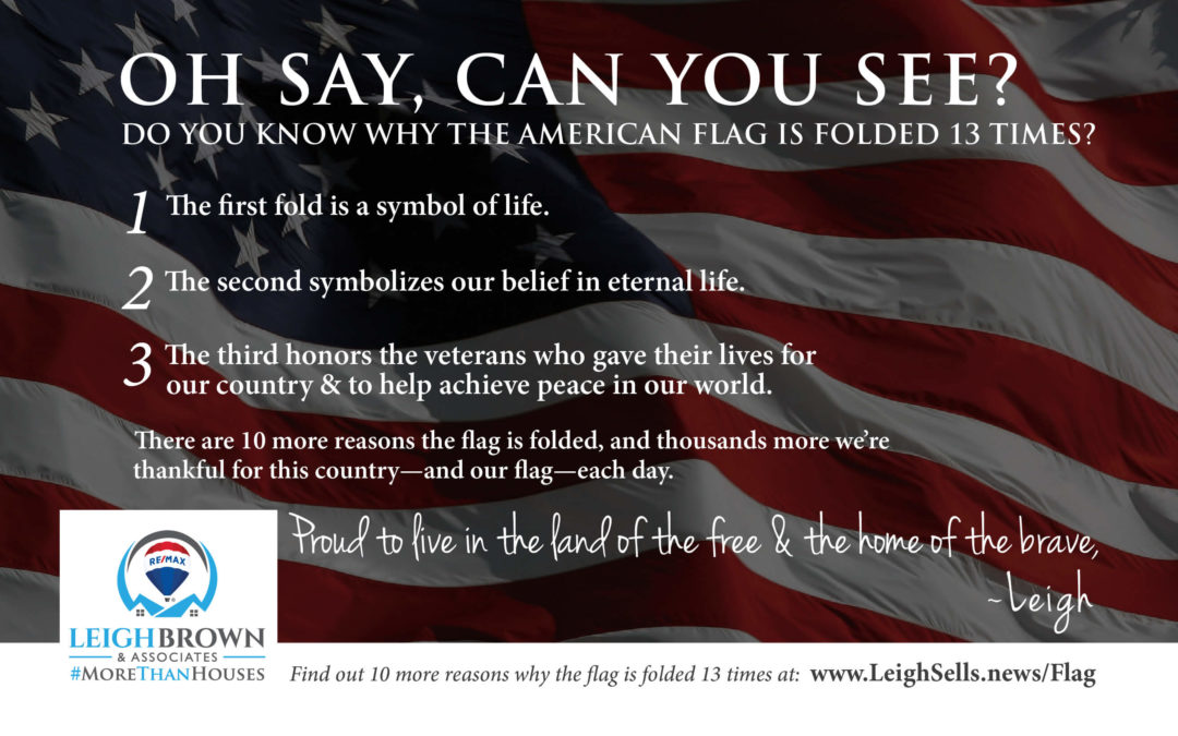 Do You Know Why The American Flag Is Folded 13 Times?