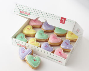 Forget the Valentine's Day Conversation Heart Candies, Try Conversation Doughnuts Instead!