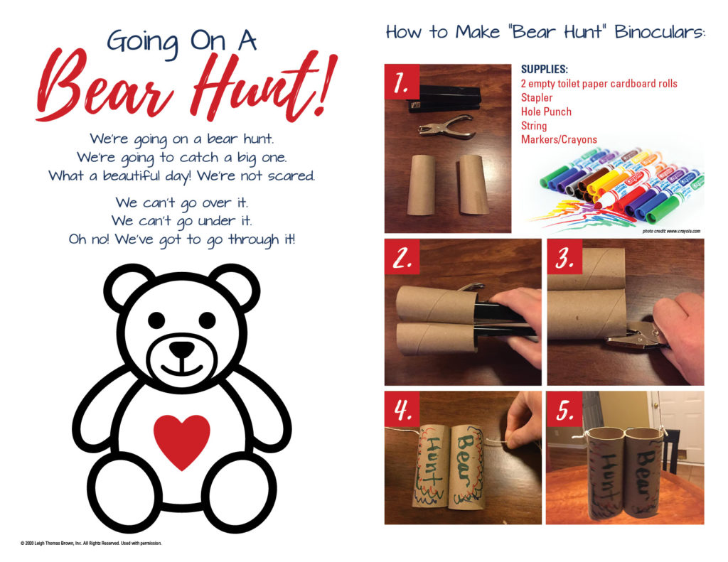 Bear Hunt Fun DIY Binoculars
