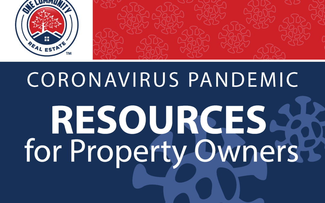 Coronavirus Pandemic Resources for Property Owners