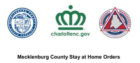 Stay-at-home Order in Charlotte/Mecklenburg County NC