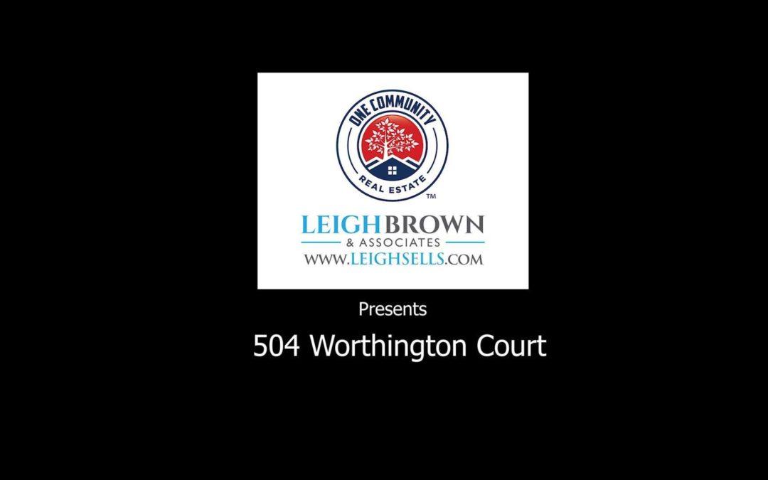 504 Worthington Court NE-Aerial View