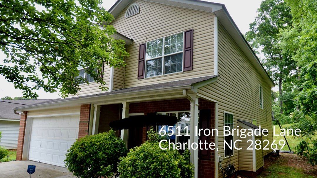 6511 Iron Brigade Lane-Beautiful 3 Bedroom Home in Charlotte!