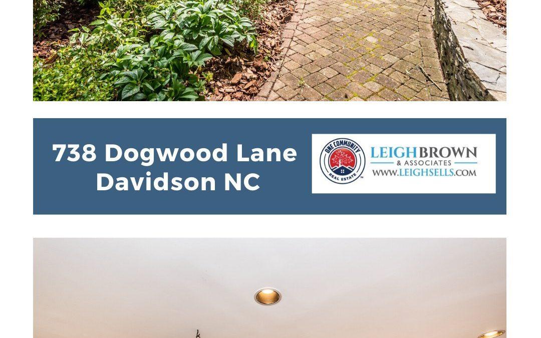738 Dogwood Lane-Impressive 4 Bedroom Home in Davidson!