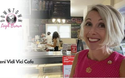 Downtown With Leigh Brown-Find The Best Coffee, Pastries & Hometown Feel At Veni Vidi Vici Cafe!