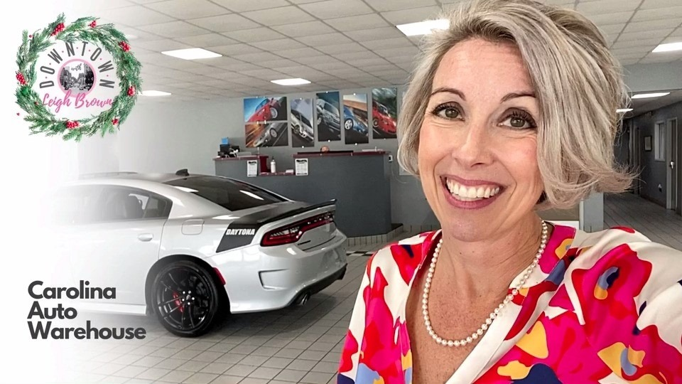 Downtown With Leigh Brown-Get The Best Deals & Financing At Carolina Auto Warehouse!