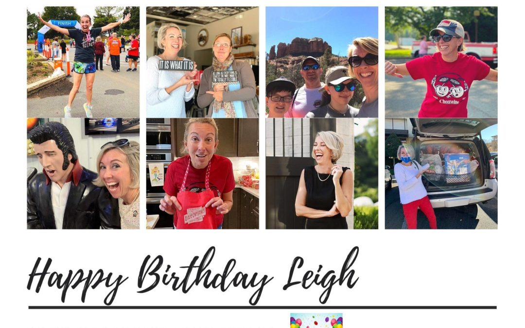 Happy Birthday Leigh!