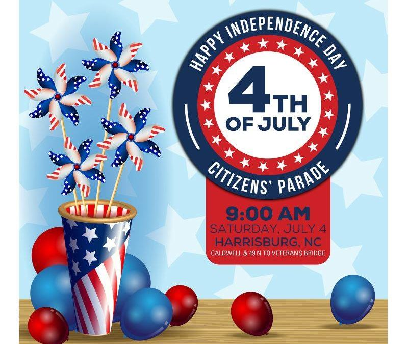 July 4th Citizens Parade in Harrisburg NC