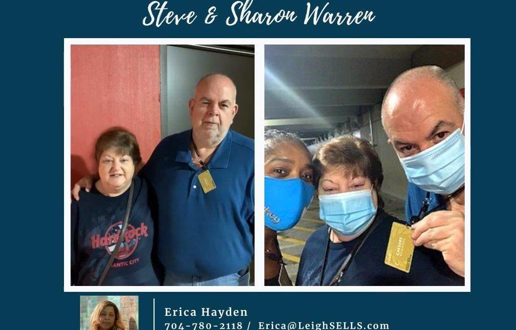 Steve & Sharon Warren Client Review for Erica Hayden
