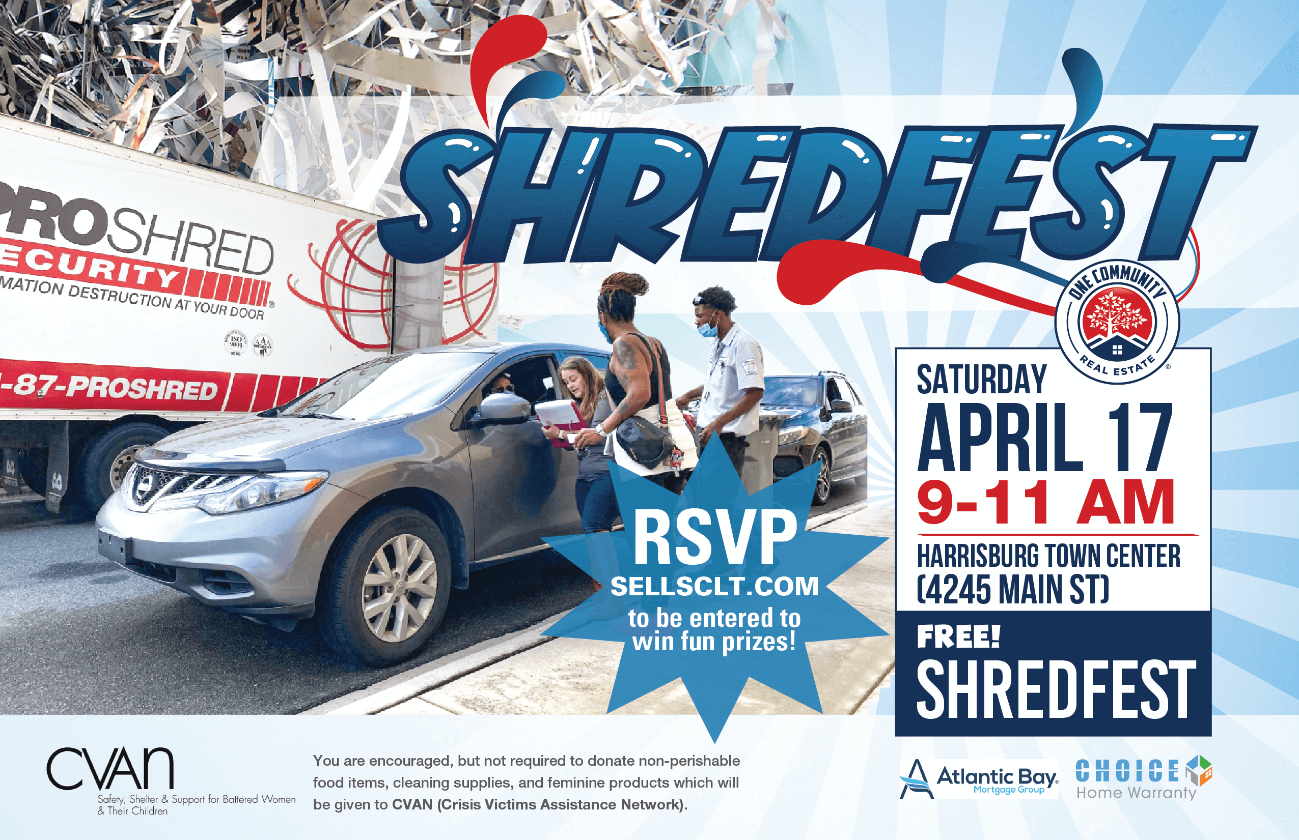 One Community Real Estate Spring ShredFest