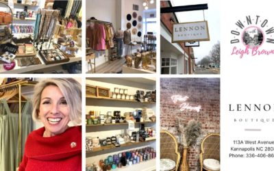 Downtown With Leigh Brown – Get The Latest Fashions At The Lennon Boutique!