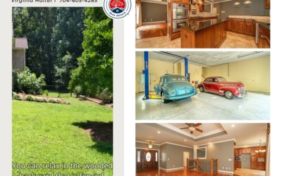 JUST LISTED – Stunning Ranch With A 4+ Detached Garage!