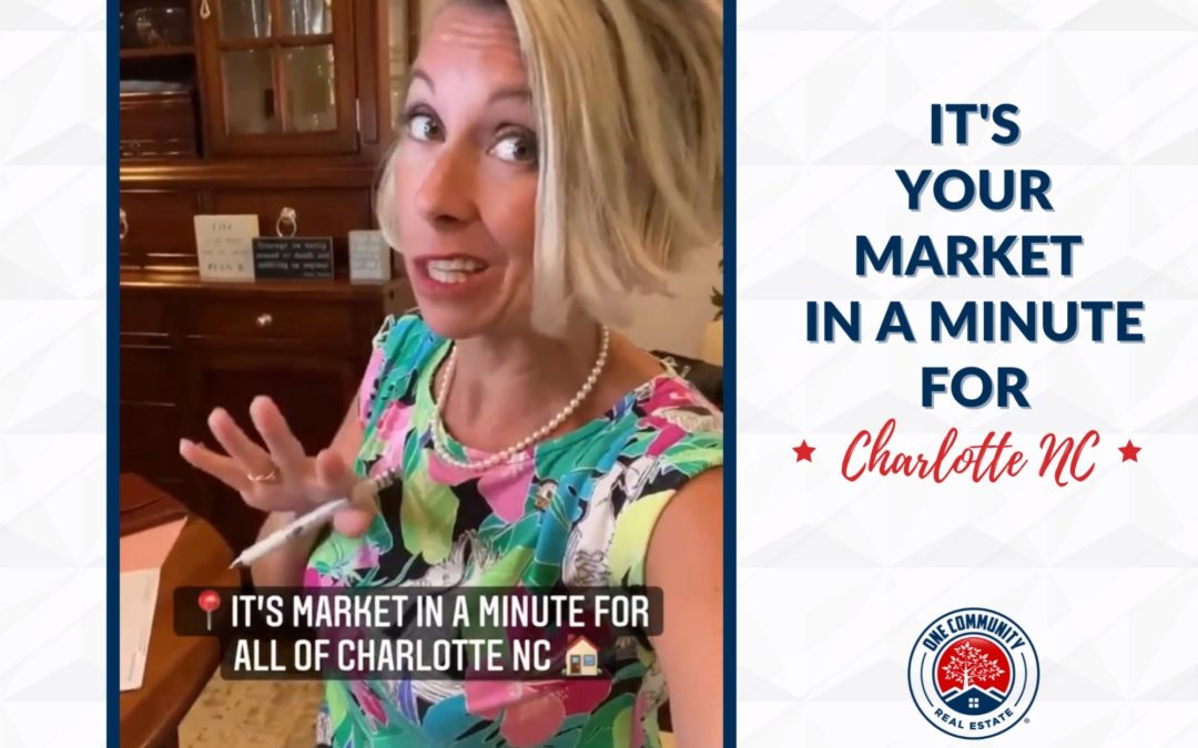 Market In A Minute For Charlotte NC