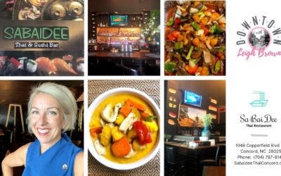Downtown With Leigh Brown –  Get The Finest Thai Food & Sushi at Sabaidee!