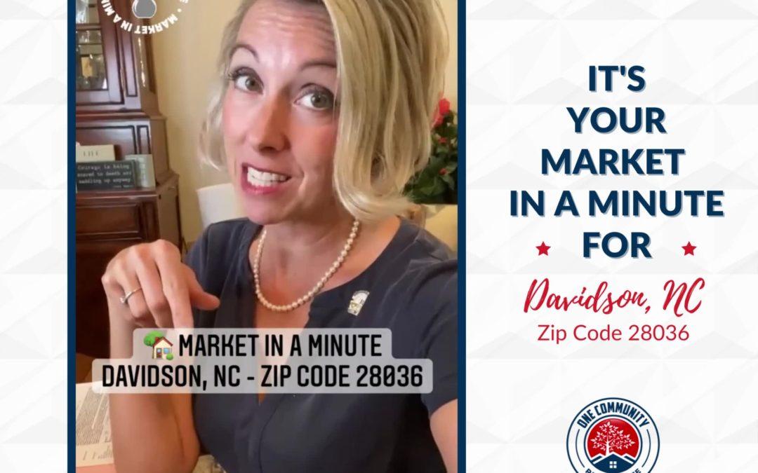 Market In A Minute – Davidson, NC 28036