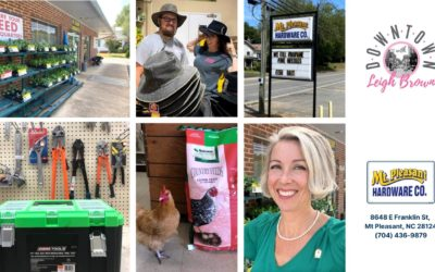 Downtown With Leigh Brown – Find Everything You Need At Mt. Pleasant Hardware!